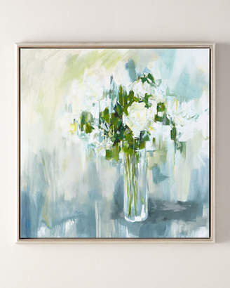 """Day of Roses Giclee, 36""""Sq."""