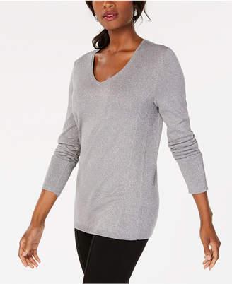 JM Collection Metallic Sweater