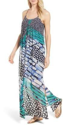 Nic+Zoe Bloom Me away Print Maxi Dress
