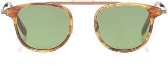 Garrett Leight Van Buren Square-Frame Acetate Sunglasses