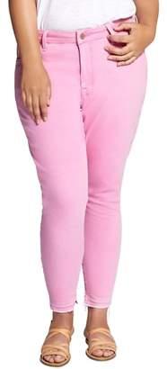 Sanctuary Saige Release Hem Curvy Fit Skinny Jeans