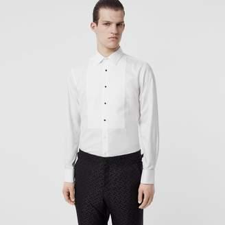 Burberry Panelled Bib Cotton Oxford Dress Shirt