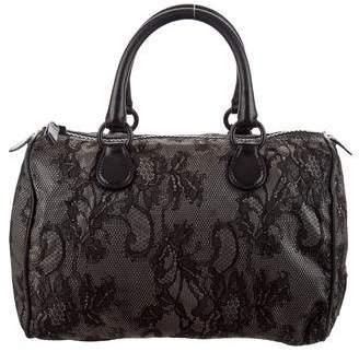 Valentino Day Lace Boston Bag