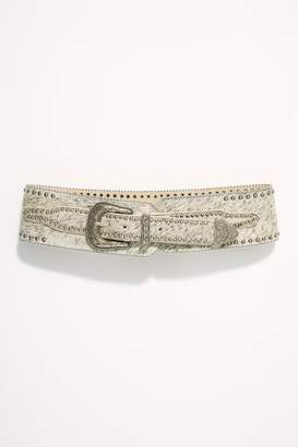 Understated Leather Lady Luck Speckled Belt