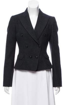 Dolce & Gabbana Cropped Wool Blazer