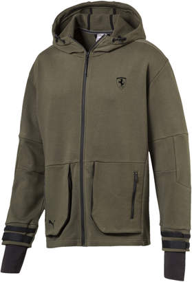 Ferrari Life Midlayer Zip-Up Hooded Men's Jacket