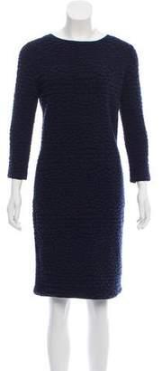 Armani Collezioni Knee-Length Wool Dress