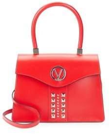 Melanie Studded Top Handle Bag