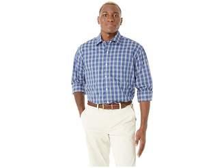 Magna Ready Long Sleeve Tattersal Dress Shirt - Spread Collar