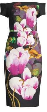 Trina Turk Casa Mexico Ruby Floral Dress
