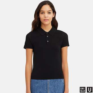 Uniqlo Women's U Knitted Short-sleeve Polo Shirt