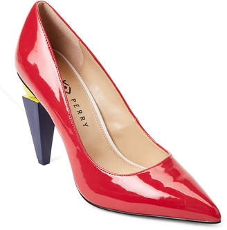 Katy Perry Spanish Red Memphis Pointed Toe Pumps