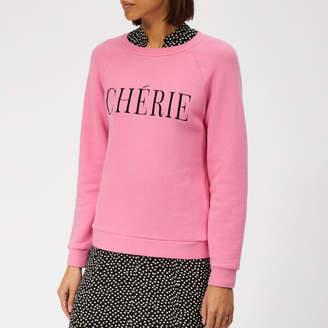 Whistles Women's Cherie Embroidered Sweatshirt