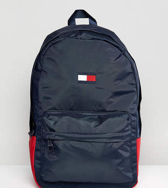 Tommy Hilfiger Retro Logo Backpack Exclusive to ASOS in Navy