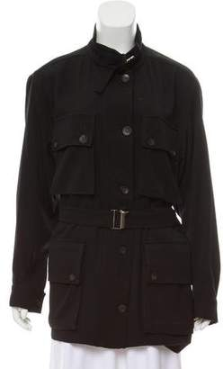 Gucci Wool Military Jacket