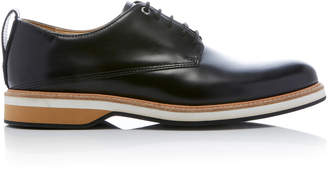 WANT Les Essentiels Montoro Cognac Leather Derby Shoes