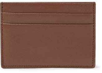 Common Projects Leather Cardholder - Brown