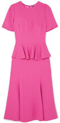 Dolce & Gabbana Crepe Peplum Dress - Pink
