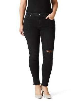 Jeanswest Narla Curve Embracer Skinny 7/8 Jean-Washed Black-8