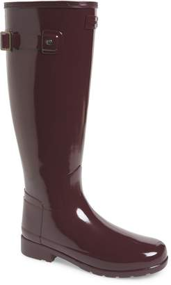 Hunter Refined Gloss Tall Rain Boot