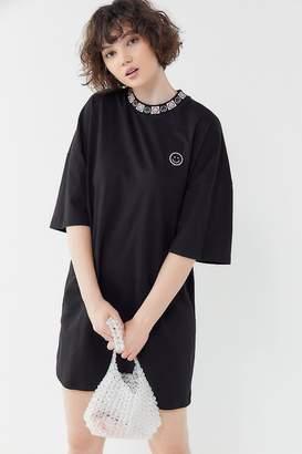 Lazy Oaf Happy Sad Oversized T-Shirt Dress