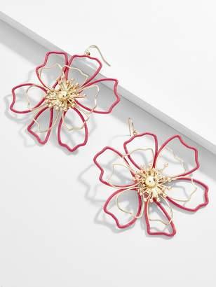 BaubleBar Tierra Flower Drop Earrings