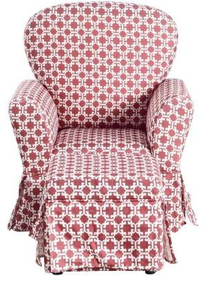 HomePop Kids Chair and Ottoman Set
