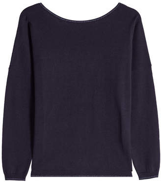 Paul & Joe Pullover with Cotton, Wool and Metallic Thread