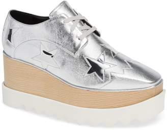 Stella McCartney Elyse Platform Wedge Shoe