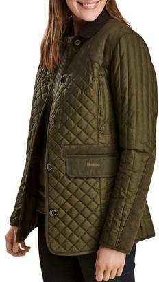 Barbour Dunnock Quilted Waxed Jacket