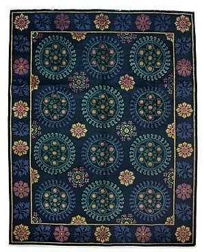 Suzani Area Rug, 10'3 x 8'2