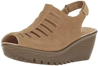 Skechers Women's Parallel-Trapezoid Wedge Sandal