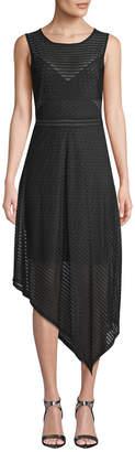 BCBGMAXAZRIA Asymmetric-Hem Dress