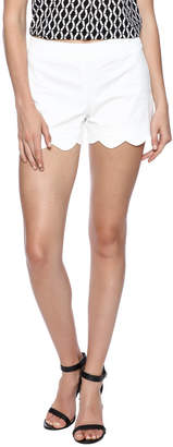 Mud Pie Serena Scalloped Short $42.50 thestylecure.com