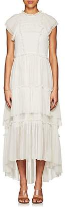 Ulla Johnson Women's Lenore Silk Chiffon Midi-Dress