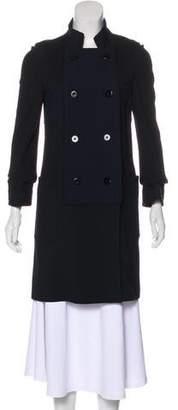 Diane von Furstenberg Mili Mod Knee-Length Coat
