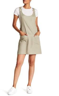 Cotton On & Co. Utility Pinafore Linen Blend Dress