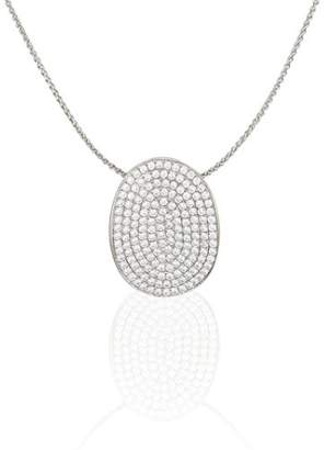 Micropave Orphelia Women's Pendant with Chain Micro-Pave 166 Zirconia 925 Sterling Silver ZH-4440