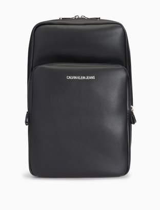 Calvin Klein smooth essentials logo sling bag