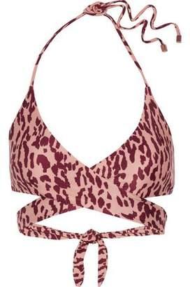 Vix Paula Hermanny Bali Printed Halterneck Bikini Top