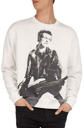 The Kooples Sex Pistols Print Crewneck Sweatshirt