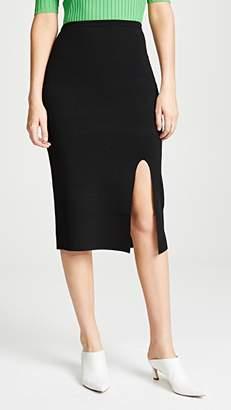 Diane von Furstenberg Side Slit Pencil Skirt