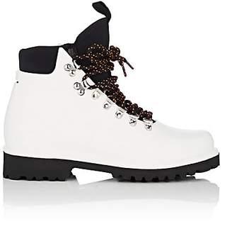 Barneys New York Women's Neoprene-Insert Rain Boots - White