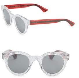 Gucci Round Glitter Sunglasses