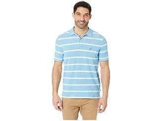Nautica Short Sleeve Kailua Stripe Oxford Shirt