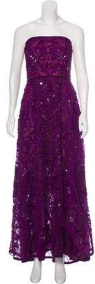 Elie Saab Strapless Beaded Gown w/ Tags