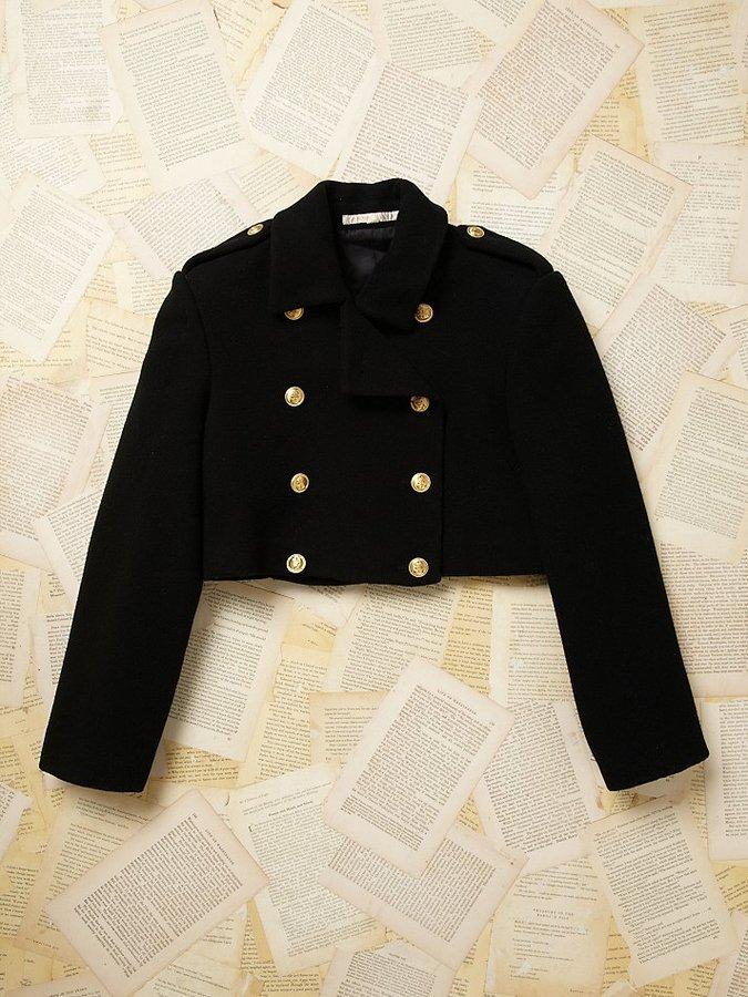 Perry Ellis Vintage Cropped Jacket