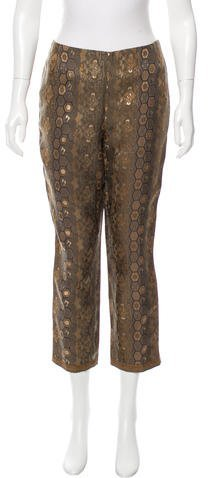 Ralph Lauren Printed Silk Pants w/ Tags