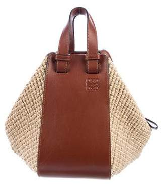 Loewe Straw Hammock Bag