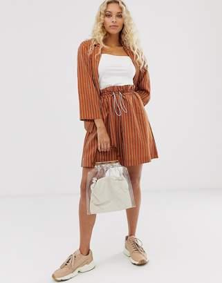 InWear pinstripe emilie stripe shorts